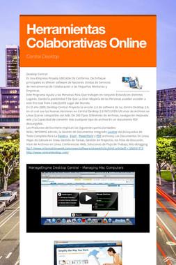 Herramientas Colaborativas Online