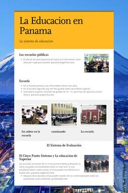 La Educacion en Panama