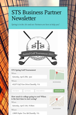 STS Business Partner Newsletter