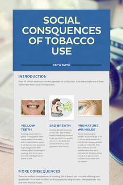 Social Consquences of Tobacco Use