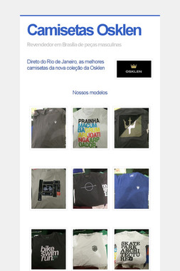 Camisetas Osklen