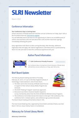 SLRI Newsletter