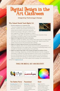 Digital Design in the Art Classroom