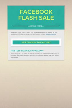 Facebook Flash Sale
