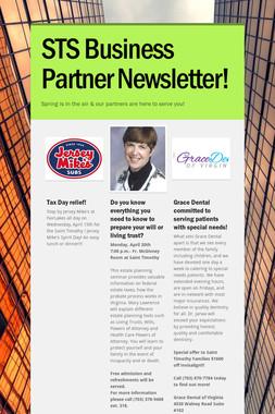 STS Business Partner Newsletter!