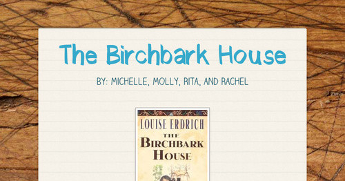 Enjoyable The Birchbark House Smore Newsletters For Education Download Free Architecture Designs Intelgarnamadebymaigaardcom