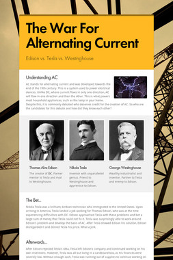 The War For Alternating Current