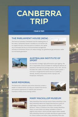 Canberra Trip