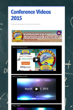 Conference Videos 2015