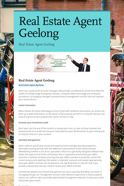 Real Estate Agent Geelong