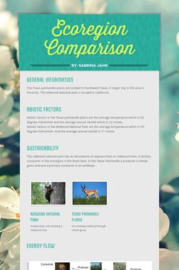 Ecoregion Comparison