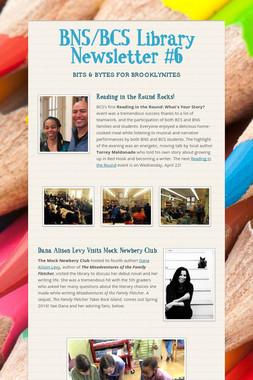 BNS/BCS Library Newsletter #6