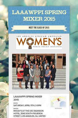 LAAAWPPI Spring Mixer 2015