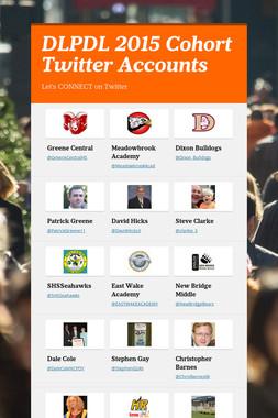 DLPDL 2015 Cohort Twitter Accounts