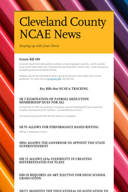 Cleveland County NCAE News