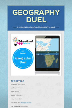 Geography Duel