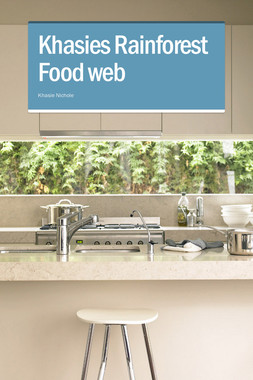 Khasies Rainforest Food web