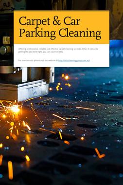 Carpet & Car Parking Cleaning