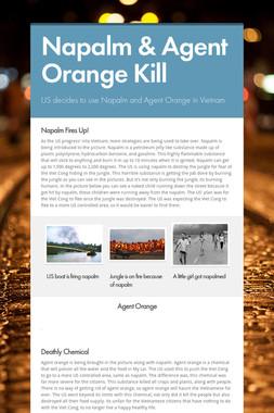 Napalm & Agent Orange Kill