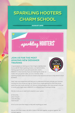 Sparkling Hooters Charm School