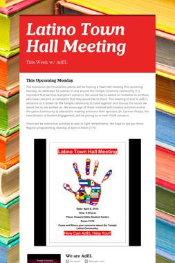 Latino Town Hall Meeting