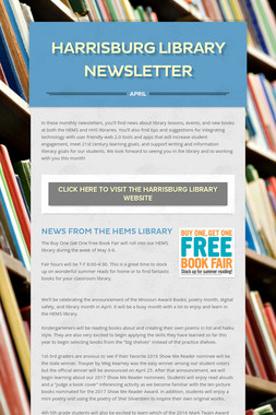 Harrisburg Library Newsletter