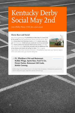 Kentucky Derby Social May 2nd