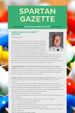 Spartan Gazette