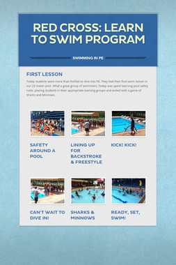Red Cross: Learn to Swim Program