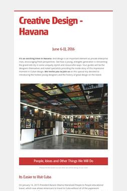 Creative Design - Havana