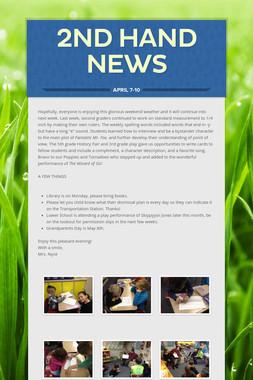 2nd Hand News