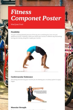 Fitness Componet Poster