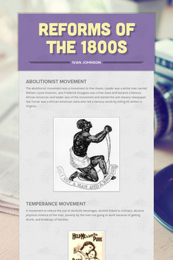 Reforms of the 1800s