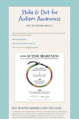 Stella & Dot for Autism Awareness
