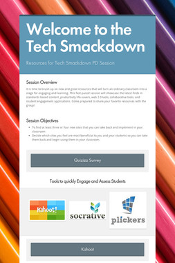 Welcome to the Tech Smackdown