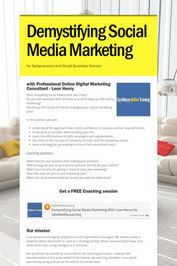 Demystifying Social Media Marketing