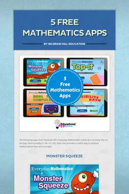 5 FREE Mathematics Apps