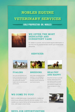 Nobles Equine Veterinary Services