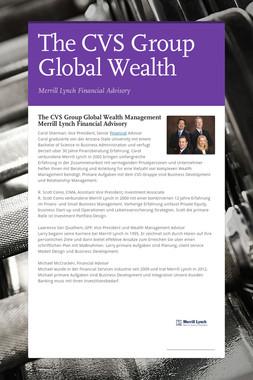 The CVS Group Global Wealth