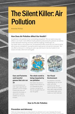 The Silent Killer: Air Pollution