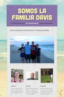 Somos la familia Davis