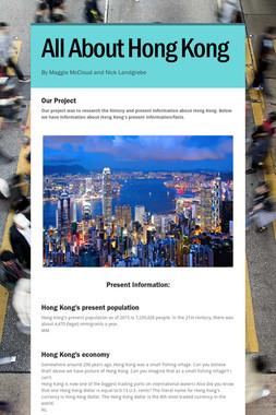 All About Hong Kong