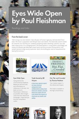 Eyes Wide Open by Paul Fleishman