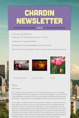Chardin Newsletter