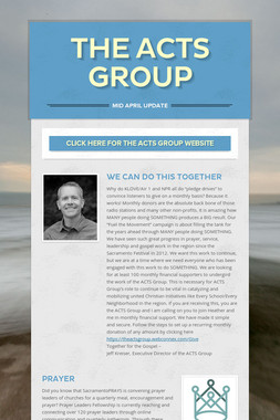 The ACTS Group