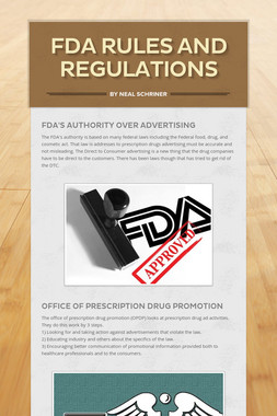 FDA Rules and Regulations
