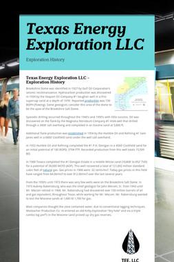 Texas Energy Exploration LLC