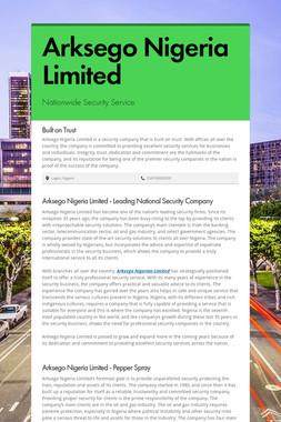 Arksego Nigeria Limited