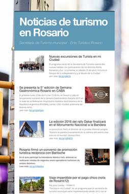 Noticias de turismo en Rosario