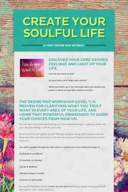 Create Your Soulful Life